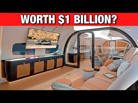 Luxury Lifestyle: Top 5 Most Expensive Jets In The World!