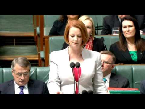 Julia Gillard: Clean Energy Bill