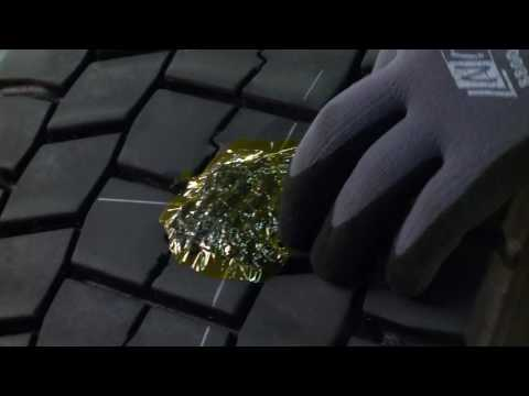 1-way Tyre Repairs With REMA TIP TOP Vulcanizing Materials And Machines
