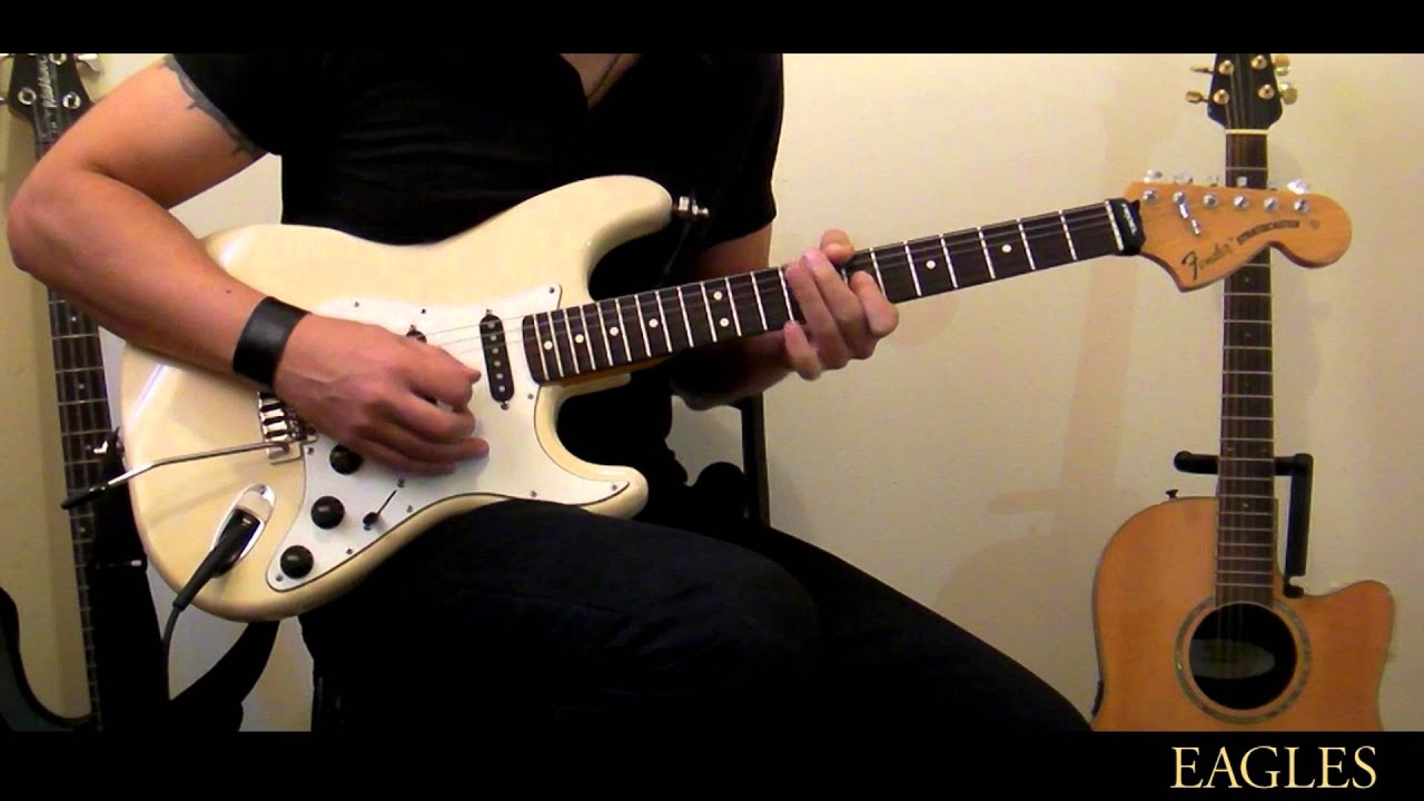 Eagles - Hotel California Guitar Solo Cover