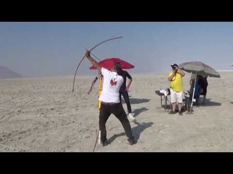 412,82 m World Record Flight Shooting  unlimited English Longbow Flight Shooting , Mónus