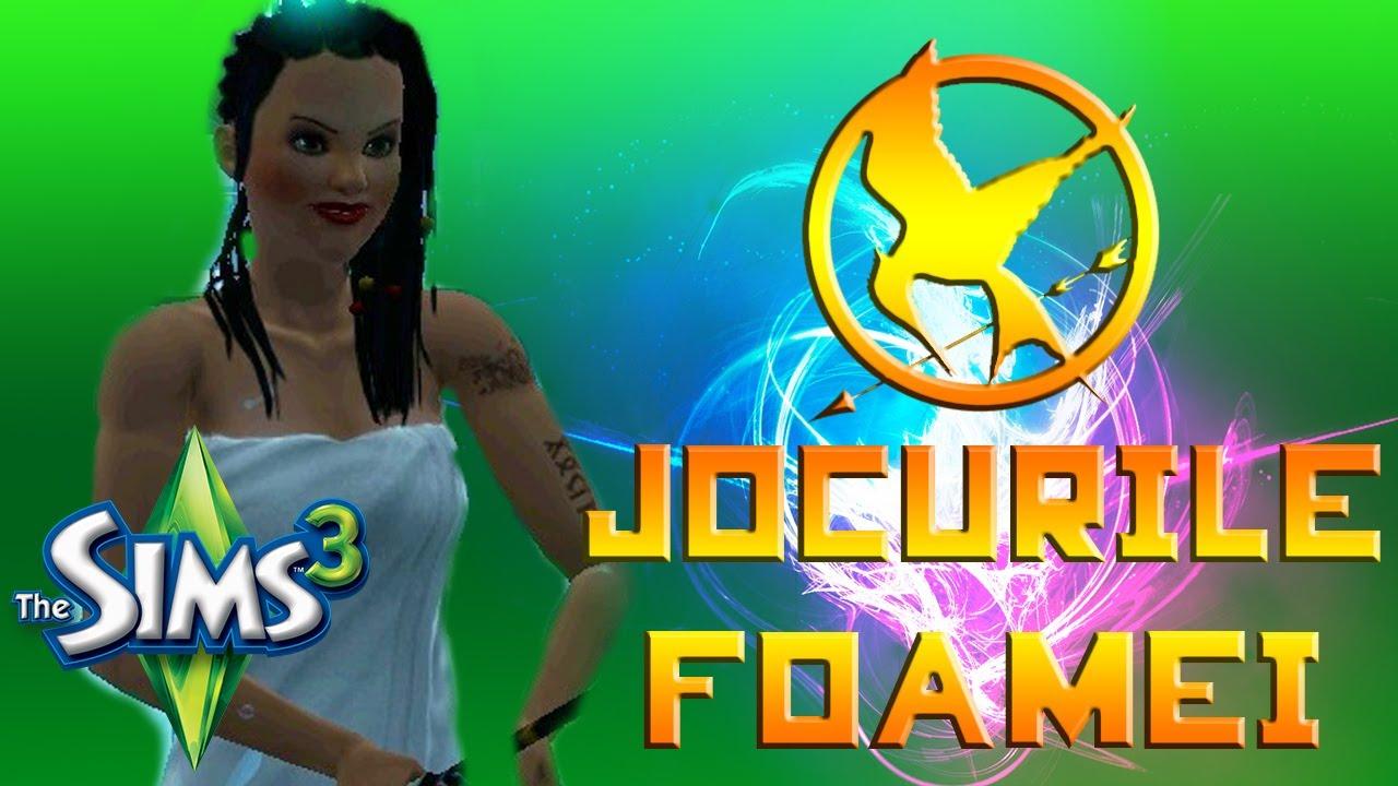 JOCURILE FOAMEI in Sims 3! || Ep. 1: CONCURENTI, REGULI, PRIMA PROBA
