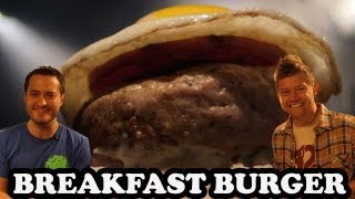 Epic Breakfast Burger With Brock Baker - Burger Lab