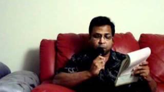 Karaoke - Amay Proshno Kore Neel Dhrubotara