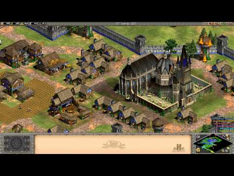 Age of Empires 2 HD Edition - Joan of Arc - The Maid of Orleans Walkthrough Gameplay