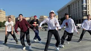 Hip Hop Team work with Explosion group
