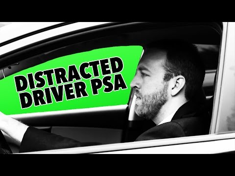 Distracted by Distracted Drivers (OC)