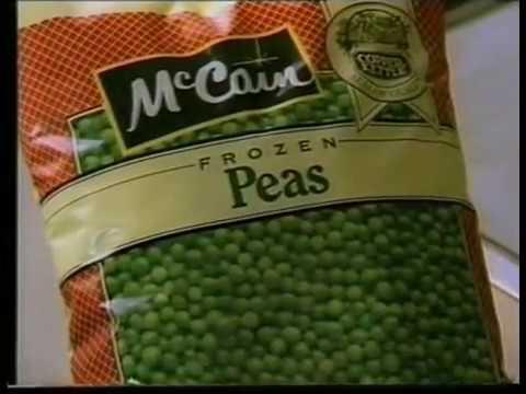 McCain Frozen Peas (Australian ad - 1988)