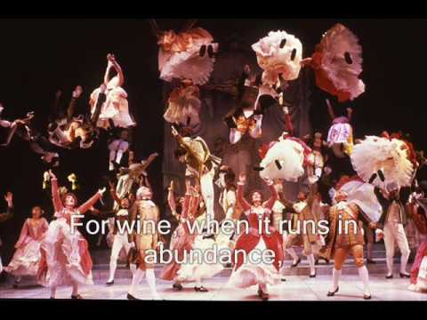 Gilbert & Sullivan - Dance a Cachucha (With lyrics)