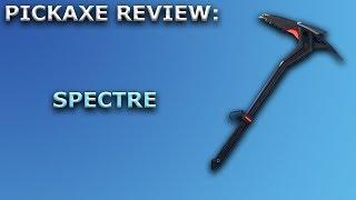 Spectre Pickaxe Review + Sound Showcase! ~ Fortnite Battle Royale