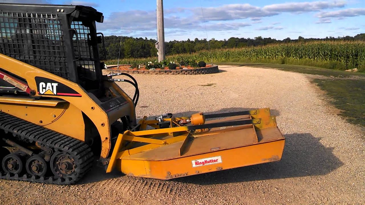 hight resolution of homemade skid steer brush hog