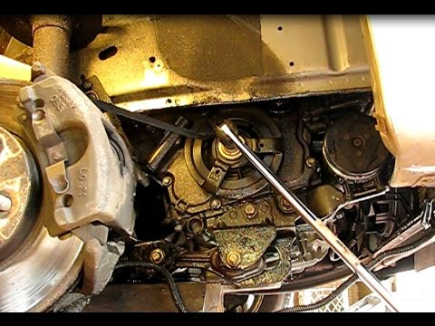How To Remove A Crankshaft Pulley Bolt
