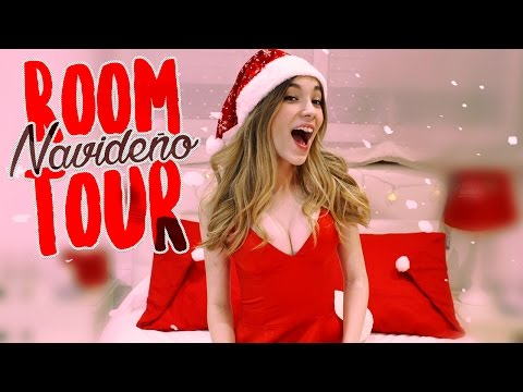 ¡ROOM TOUR NAVIDEÑO! || Rebeca Stones