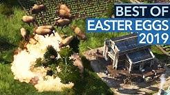 Verrückt & lustig: Die besten EASTER EGGS des Jahres