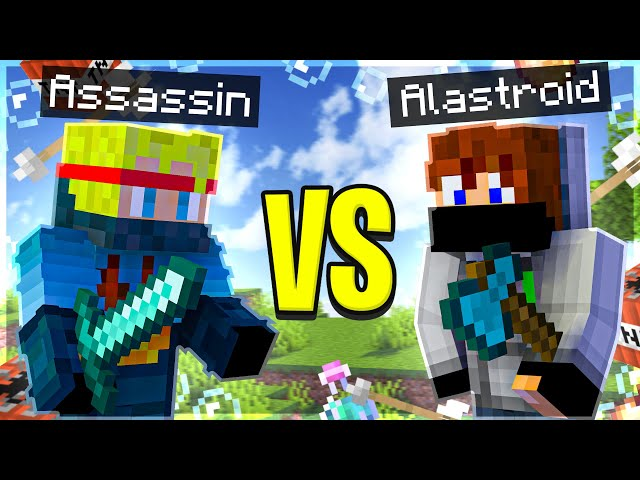 Minecraft 1v1 Survival Challenge with Alastroid (Funny Moments)