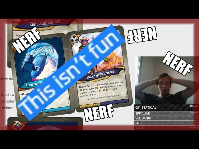 SONO ARRIVATI I NERF! | Keyforge