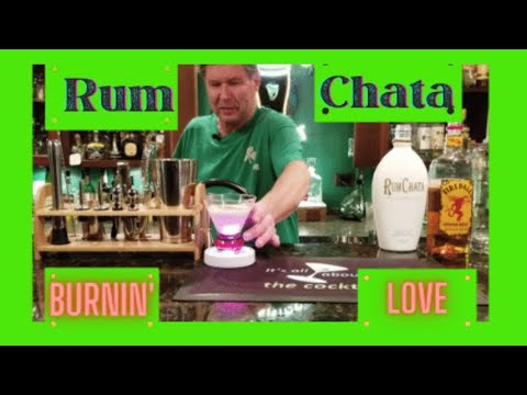 RumChata Burnin' Love Cocktail/It's all about the Cocktail/simple cocktails at home