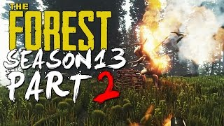 The Forest Alpha 0.13 Update Season 13 Episode 2 - Omg It's An Armsy Attack!