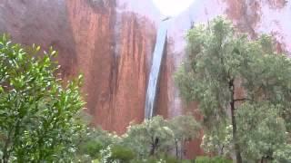 Uluru (Ayers Rock) In The Rain