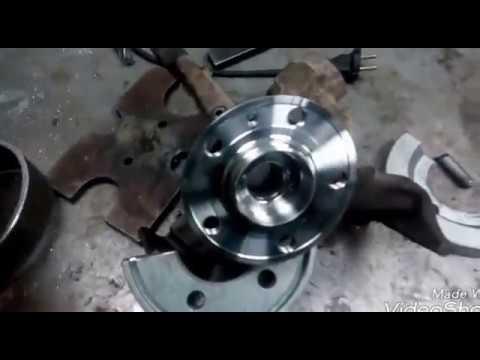 Skoda fabia 1,2 замена подшипника ступицы передней