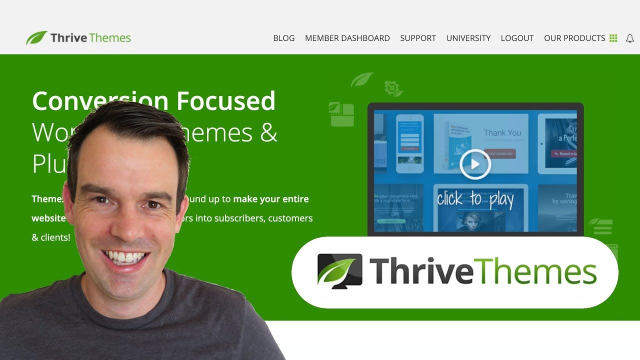 Thrive Themes Dashboard