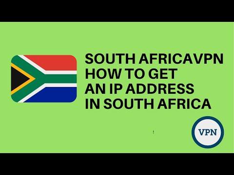 South Africa VPN: Get an IP address inSouth Africa