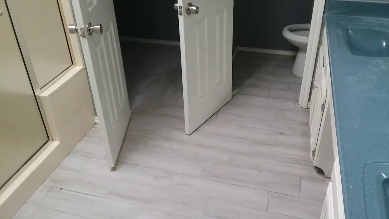 Forth Worth Handyman Service Wood Looking Tile Install