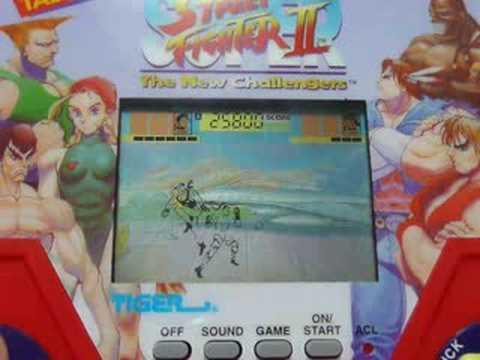 SUPER STREET FIGHTER 2 TIGER HANDHELD