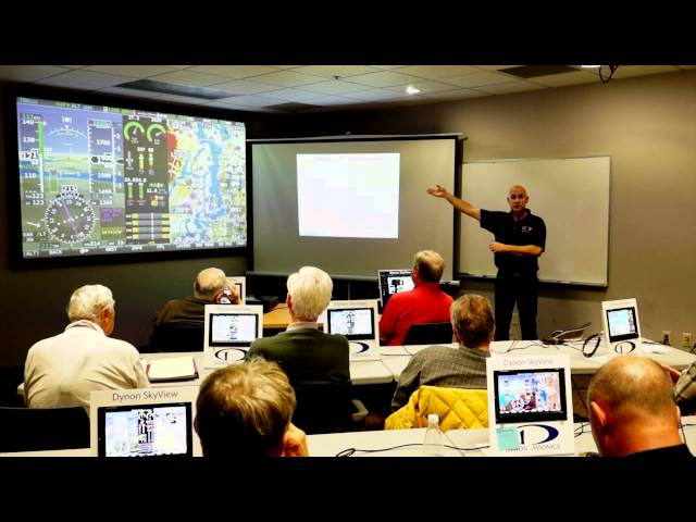 SkyView Training Class, Part 6: Flight Planning and Additional Features