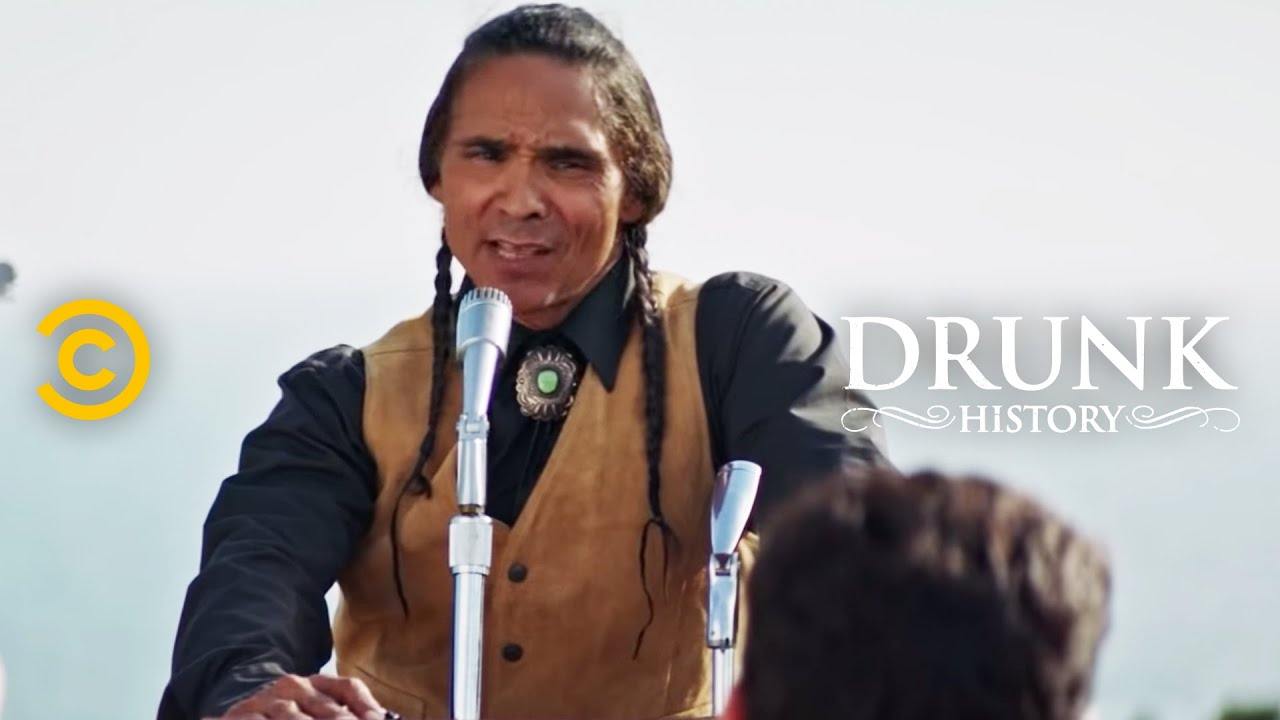 Native American Activists Occupy Alcatraz - Drunk History