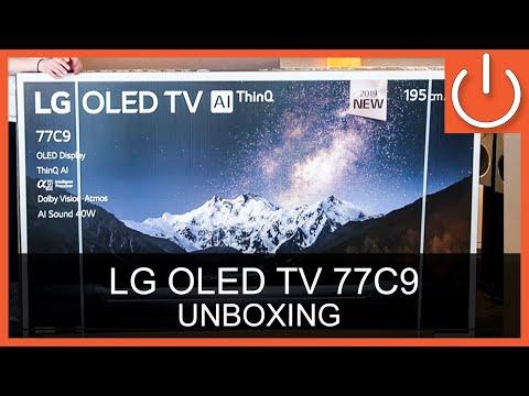 """lg-oled77c9-unboxing-thomas-electronic-online-shop-77""""-oled-c9-4k-tv"""
