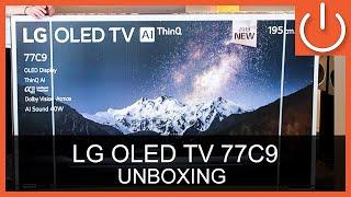 """LG OLED77C9 Unboxing Thomas Electronic Online Shop 77"""" OLED C9 4K TV"""