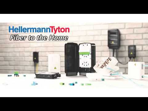 Product Demo: Fiber to the Home - HellermannTyton