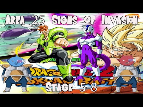 Dokkan Battle Area 25 Signs Of Invasion Stage 5-8 Hard Part2