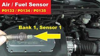 How To Test and Replace An Air Fuel Sensor P0133 P0134 P0135   Bank 1 Sensor 1