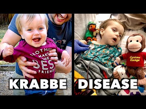 KRABBE DISEASE: Emmett's Story (He Doesn't Have Much Time) |  Dr. Paul