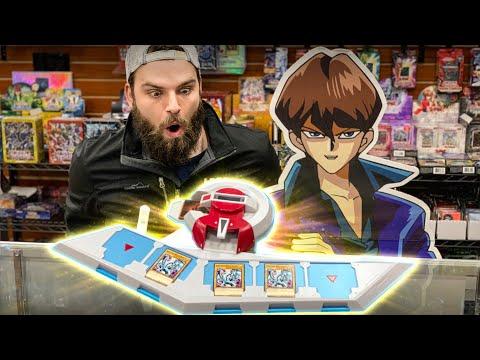 KAIBA'S REAL LIFE YU-GI-OH! DUEL DISK!!