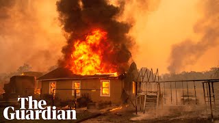 California: wildfires force tens of thousands to evacuate across state