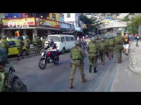 Tropas do Exército chegam à Rocinha