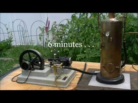 School Engine with Displacement Lubricator (HD)