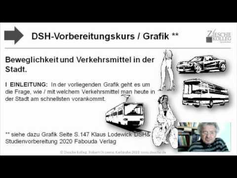 dsh vorbereitung textproduktion grafikbeschreibung fabouda v youtube - Dsh Beispiel