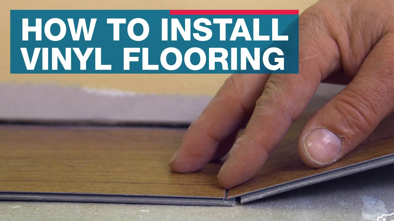 How To Install Vinyl Plank Flooring YouTube - What do you put under vinyl flooring