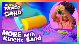 NEW SERIES! Carter and Kirby Find their Zen 😌 - More with Kinetic Sand!