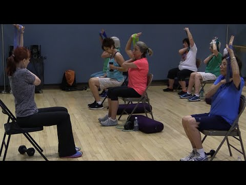 Personal Trainer on Senior Fitness and Exercise Classes