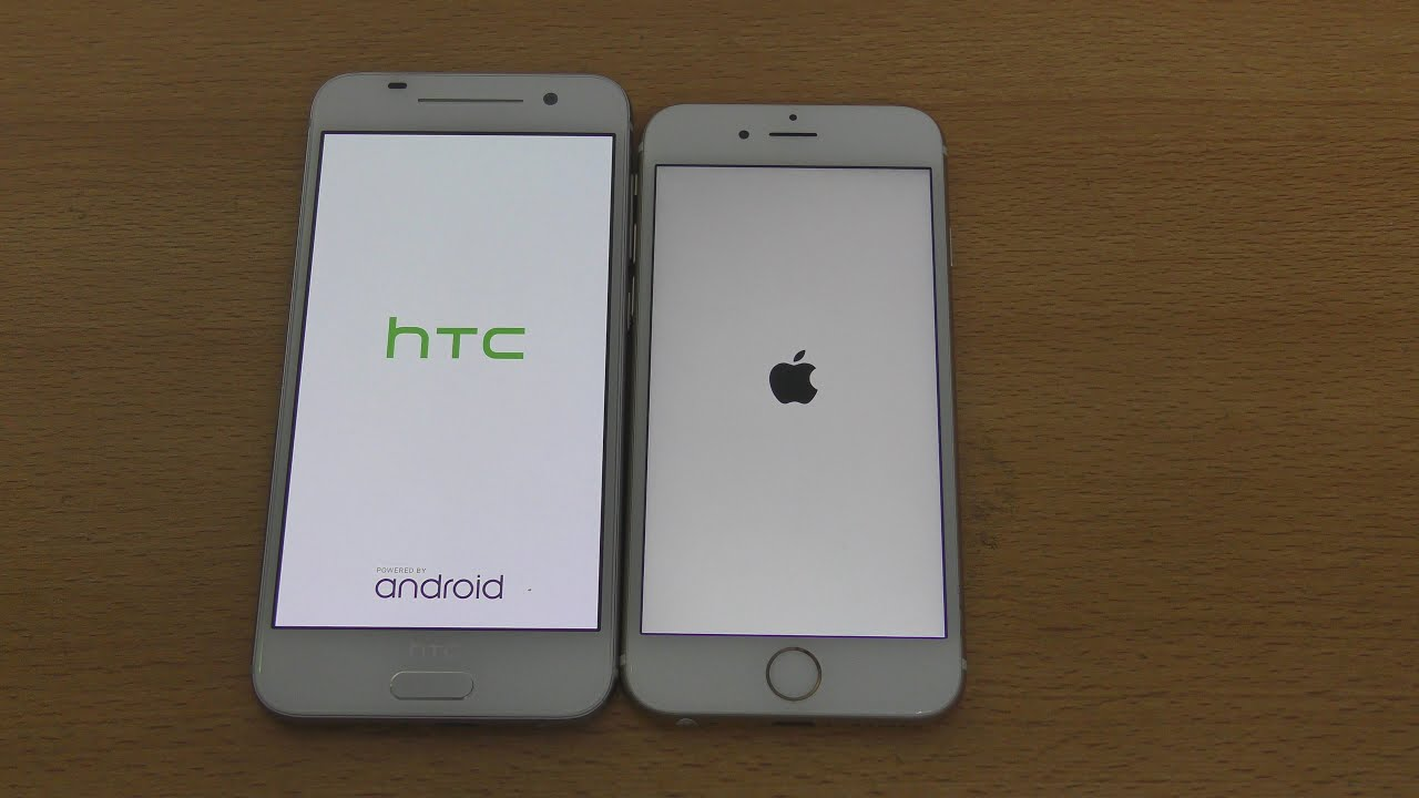 HTC One A9 vs iPhone 6S - Speed & Camera Test (4K)