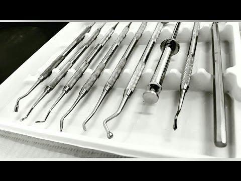 Instruments used for amalgam restoration