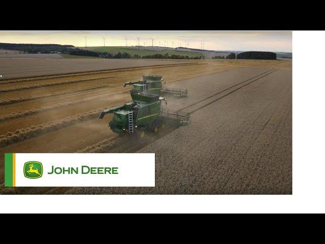 John Deere - Mietitrebbie - Sistema di trebbiatura e separazione della serie T