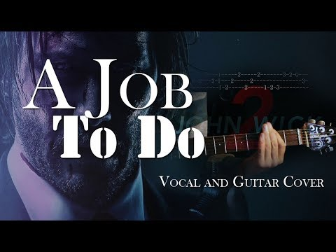 A Job To Do- Jerry Cantrell | Vocal & Guitar Cover with Solo and Tabs