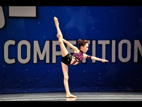 Alexia Caldwell- What I've Done 9 year old lyrical solo