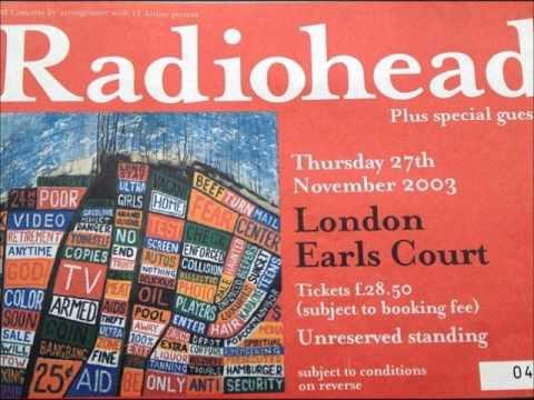 Radiohead - November 27 2003 London,UK (audio)